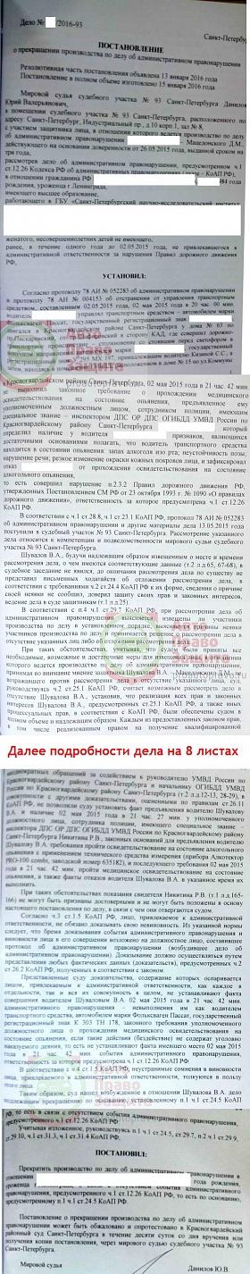 отказ от медосвидетельствования статья 12.26 сомневаюсь